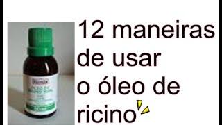 vuclip 12 Maneiras de usar o óleo de ricino
