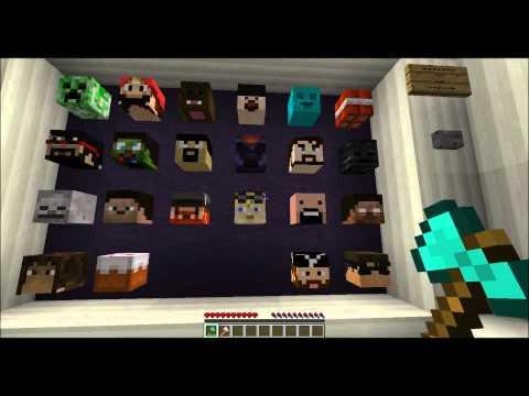 Minecraft - Карта 'Угадай голову'