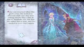 Disney's frozen story book reading full