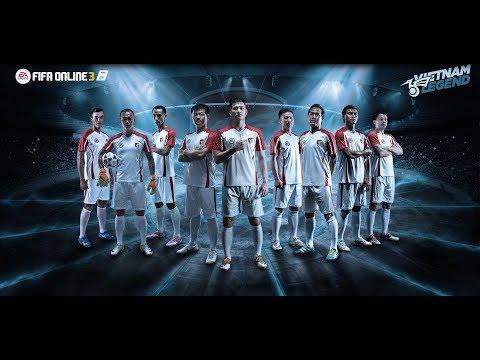 [FIFA Online 3] Giới thiệu 9 danh thủ Vietnam Legend - Official Trailer