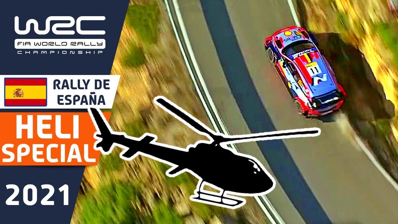 WRC Rally Helicopter Compilation : WRC RallyRACC - Rally de España 2021