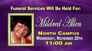 Homegoing Service - Mildred Allen