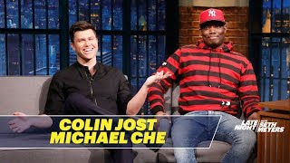 Michael Che and Colin Jost review some of their favorite rejected SNL sketches and talk about the pressure of working with Will Ferrell on SNL. » Subscribe to ...