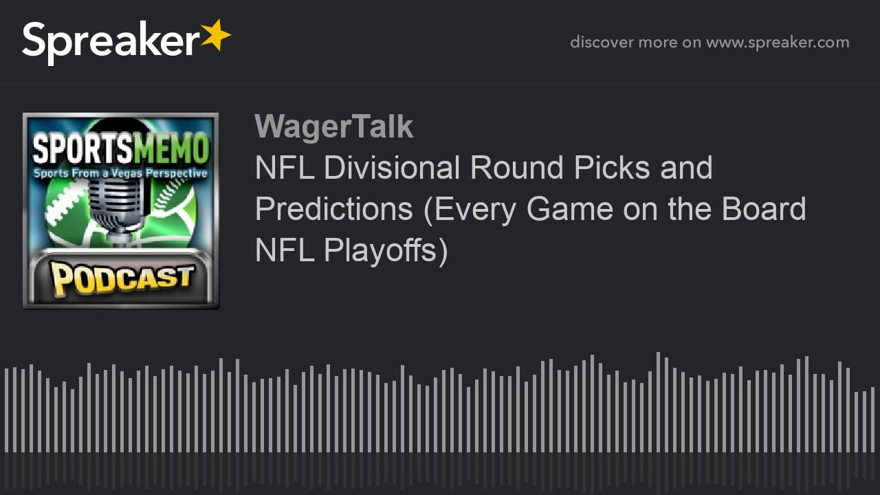 NFL Divisional Round Picks and Predictions (Every Game on the Board NFL Playoffs)