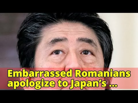 Embarrassed Romanians apologize to Japan's prime minister over government's 'disrespectful behavior'