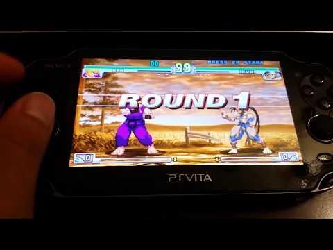PS Vita Hacks 3.60! Installing Street Fighter 3rd Strike On PS VITA RetroArch Tutorial!!!