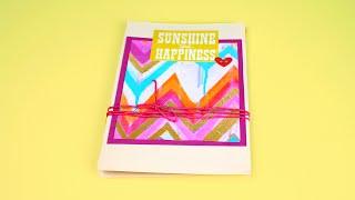 Скрапбукинг-альбом об отпуске своими руками