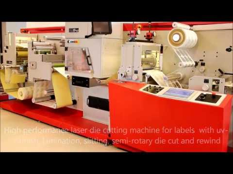 Laser die cutter for self adhesive labels - 2014 version