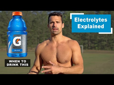 Electrolytes Explained: Is Gatorade Beneficial And When Should You Drink It