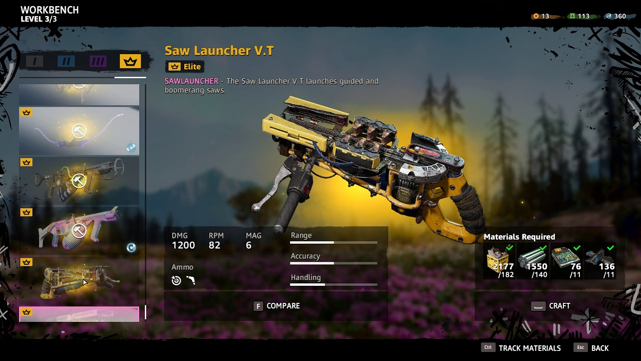 far cry new dawn elite weapons