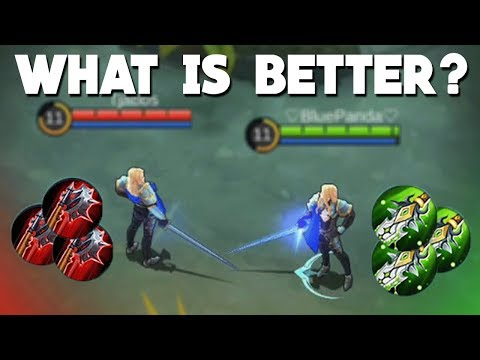 Lancelot vs Lancelot (Lifesteal vs Damage) Mobile Legends New Hero