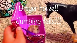 Breyer horse jumping fails