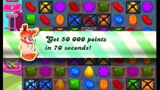 Candy Crush Saga Level 1585 walkthrough (no boosters)