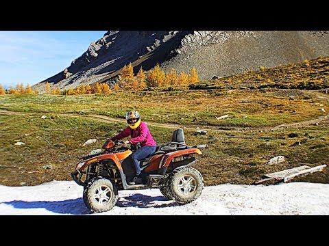 Canada ATV / Quad Adventure Tours - Banff, Canmore & Panorama BC