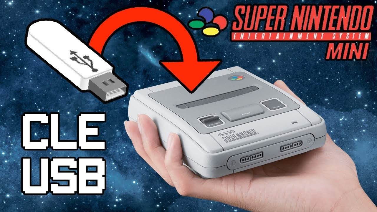 Clé usb sur la Mini super nintendo : le tuto ! - YouTube