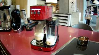 Test de la Machine à Café Boretti B401 Rouge - Defitec