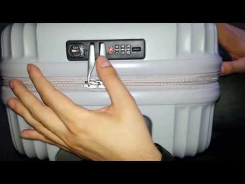How to set or change Lojel TSA combination lock
