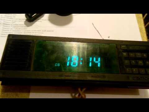 alarm clock electronika  7 21 01