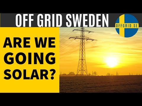 Solar panel system — Are we going solar?