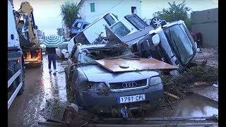 Terrifying Rain Brings Deaths! Fuerte Inundación en Mallorca!