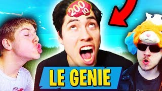 THIS GENIE IS THE FORTNITE CREATOR BATTLE ROYALE 🔥 (It's a legend)