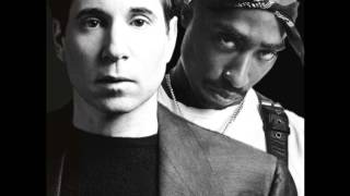 Paul Simon vs Tupac - Me and Julio and Dear Mama Down By the Schoolyard (Green Fingers Mashup)