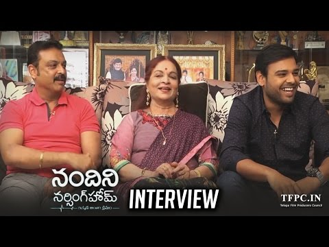 Vijaya Nirmala, Naresh & Naveen Interview About Nandini Nursing Home Movie | TFPC