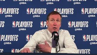 Thunder vs Blazers Game 3 - Terry Stotts