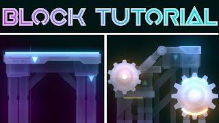 Xender Game Block Design Tutorial   Boss tutorial Ep.2   Geometry Dash 2.1
