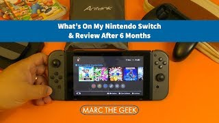 What's On My Nintendo Switch & Review After 6 Months
