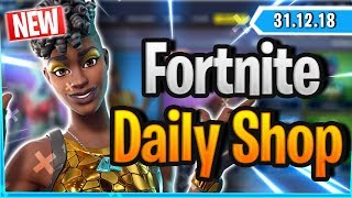 Fortnite Daily Shop *NEW* DISCO DIVA SKIN (31 December 2018)