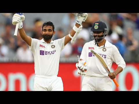 Rahane celebrates gusty captain's knock at the MCG | Vodafone Test Series 2020-21