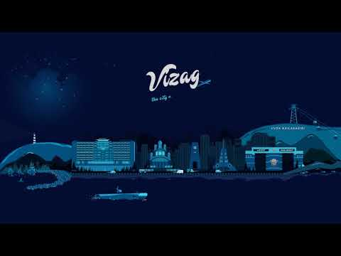 Visakhapatnam - The city of destiny  -  Vizag City Illustration Motion Graphics