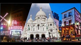 Natale a Parigi! #1 Montmartre -Pigalle- Moulin Rouge.