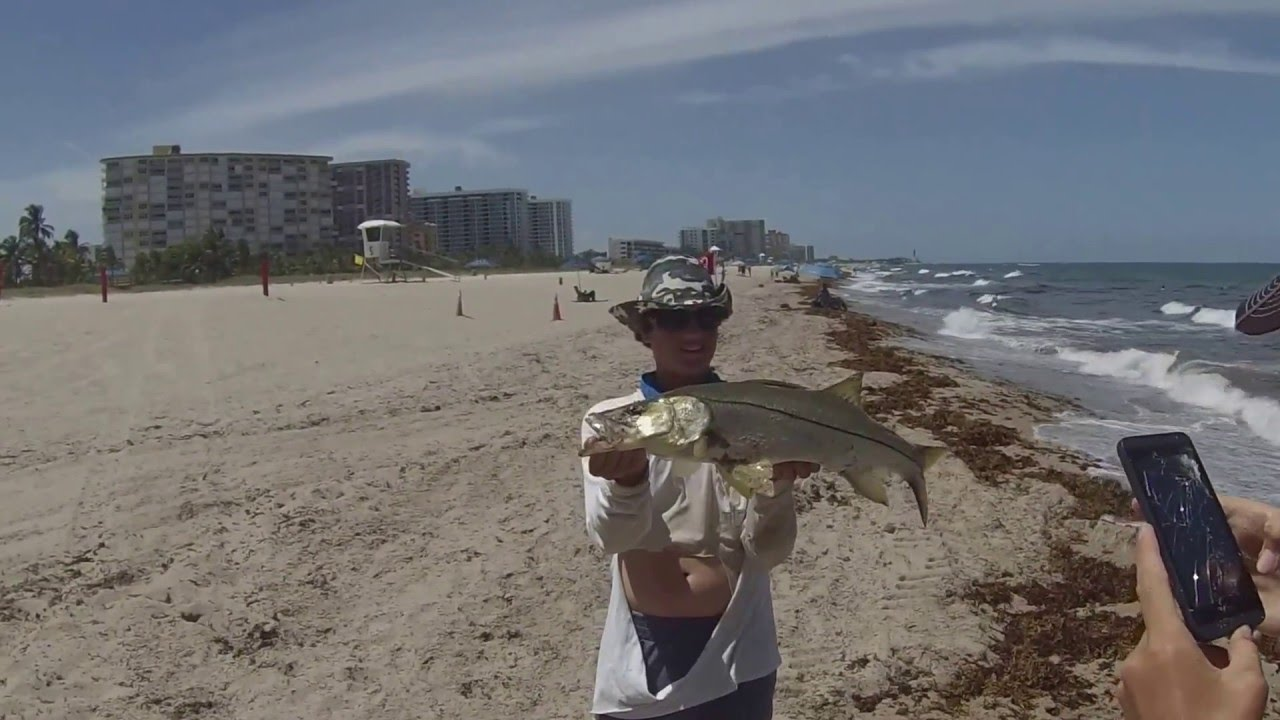 Pompano Beach Pier Fishing