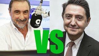 Carlos Herrera vs Federico Jiménez Losantos 'Dos mundos al encuentro' Foro EL MUNDO mod. AR Quintana
