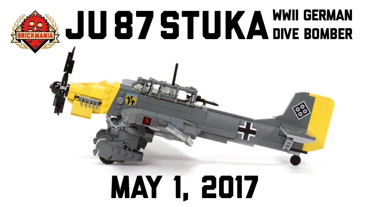 Ju 87 Stuka - Custom Military LEGO