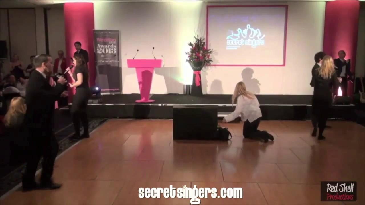Singing Waiters Secret Singers Wedding Ideas Awards Youtube