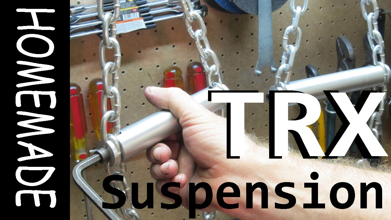 Homemade TRX-Style Suspension Trainer