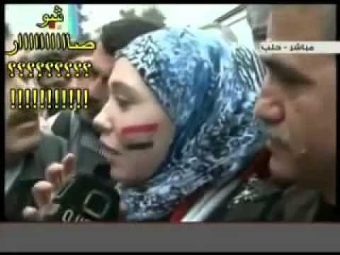 تحرش مسخره شبيحة بشار الاسد thumbnail