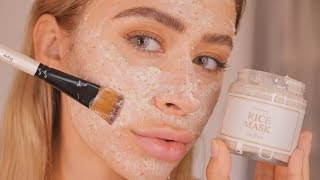 IM FROM RICE MASK REVIEW   Hit or Miss? on sensitive dry acne prone skin