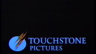 Touchstone Pictures (1989) Company Logo (VHS Capture)