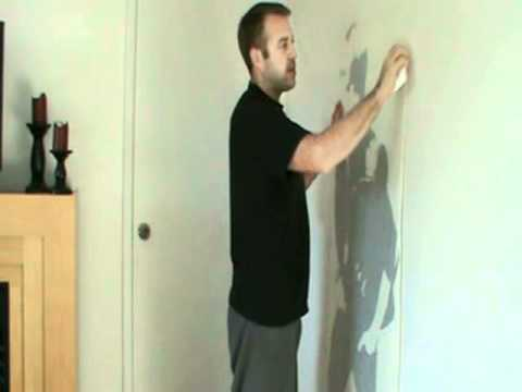 Justin Bieber Wall Decal Installation Part 77