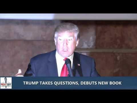 Trump Blasts Obama Economics While Promoting  New Book