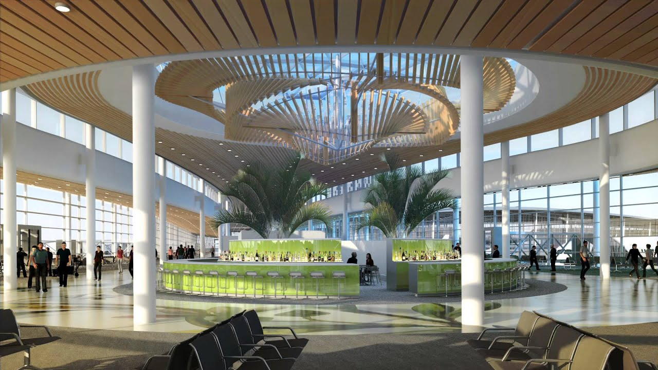 Plans for a new New Orleans Airport (MSY) - YouTube