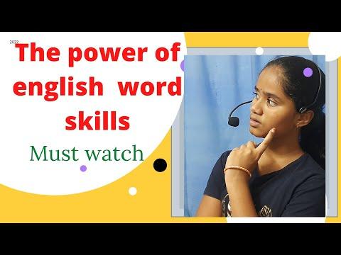 An impressive speech on English language skills#Jathvika Vaddepalli