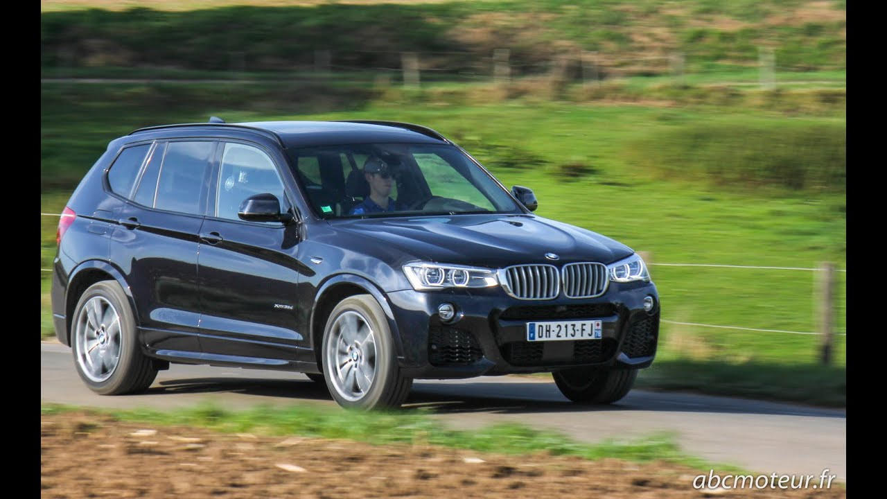 Bmw X3 Xdrive 35d 313 Ch Sound Youtube