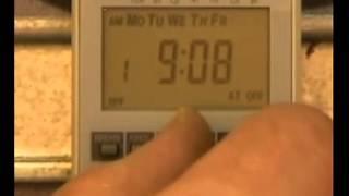 видео Как подключить и настроить таймер управления освещением