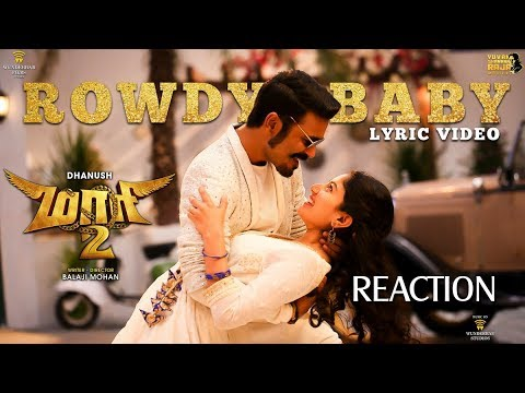Maari 2 Rowdy Baby Single Track Review & Reaction | Dhanush | Yuvan Shankar Raja | Balaji Mohan