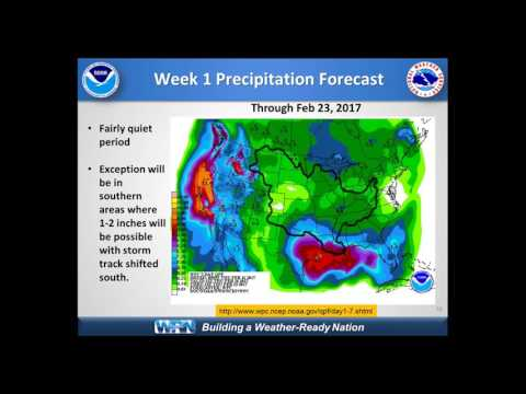 February 2017 National Weather Service Spring Flood Outlook for NWS Partners